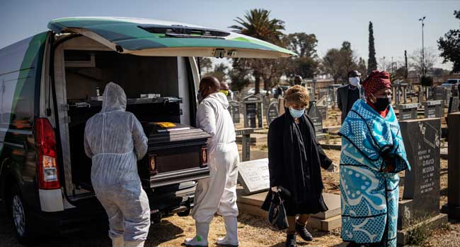 South Africa Coronavirus Deaths Top 10,000